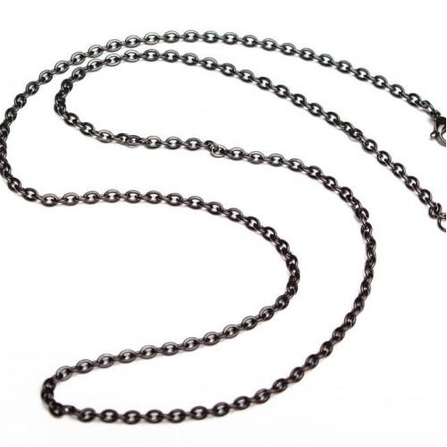 Ланцюжок ланковий чорний
