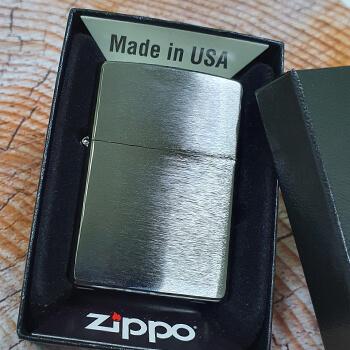 ZIPPO Brushed Chrome 200 зажигалка