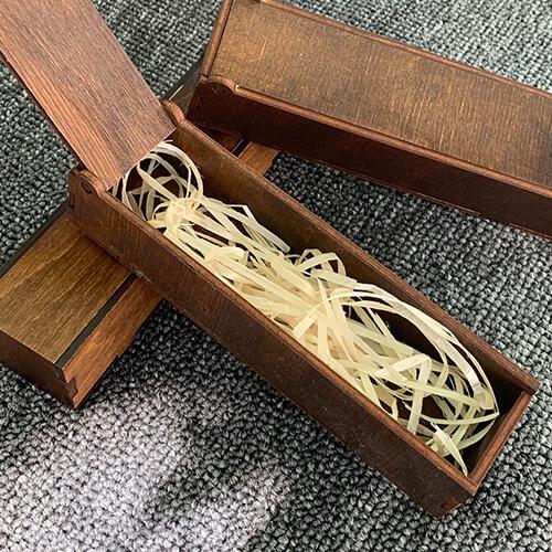 Коробочка для брелока дерев'яна